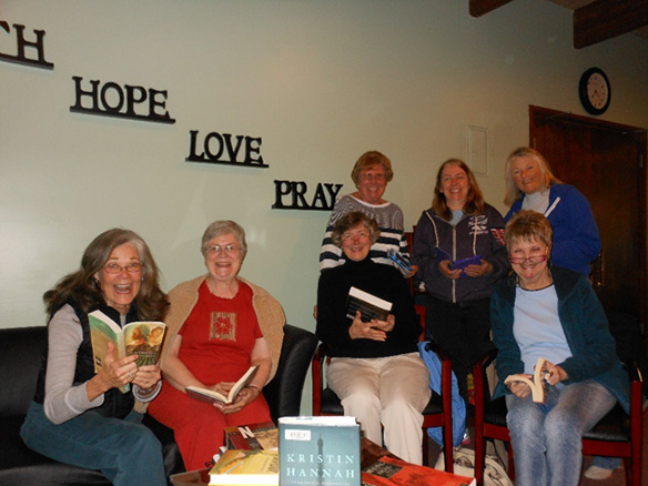 Women's Book Group at Holy Cross Lutheran Church in Bellevue, WA